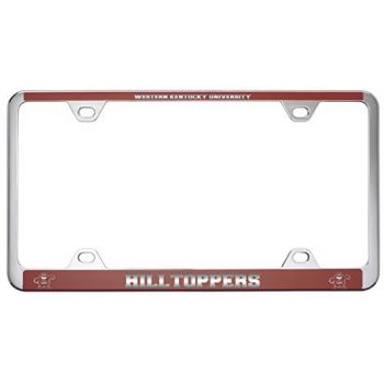 Western Kentucky University -Metal License Plate Frame-Red