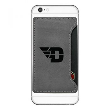 University of Dayton-Cell Phone Card Holder-Grey