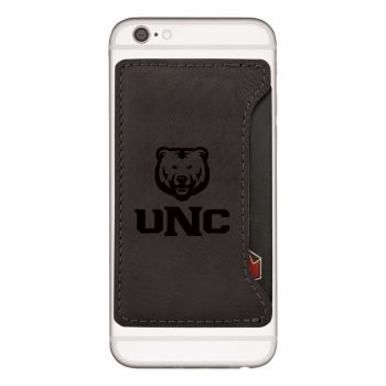University of Northern Colorado -Cell Phone Card Holder-Black