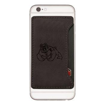 Fresno State-Cell Phone Card Holder-Black