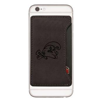 Tulane University-Cell Phone Card Holder-Black