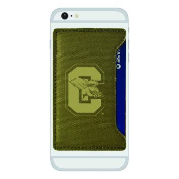 Canisus College-Durable Canvas Card Holder-Olive