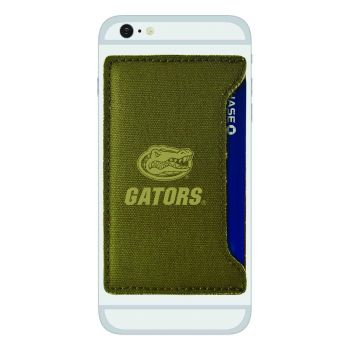 University of Florida-Durable Canvas Card Holder-Olive
