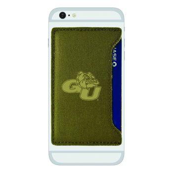 Gonzaga University -Durable Canvas Card Holder-Olive