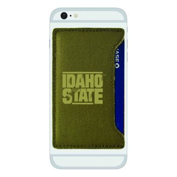 Idaho State University -Durable Canvas Card Holder-Olive