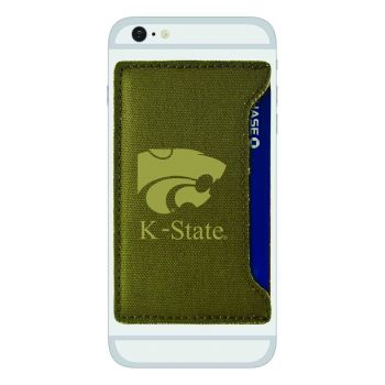 Kansas State University-Durable Canvas Card Holder-Olive