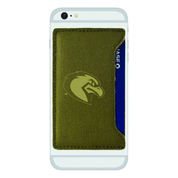 Marquette University-Durable Canvas Card Holder-Olive