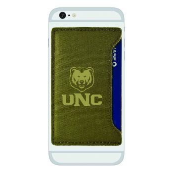 University of Northern Colorado-Durable Canvas Card Holder-Olive