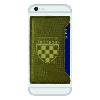 University of Richmond -Durable Canvas Card Holder-Olive