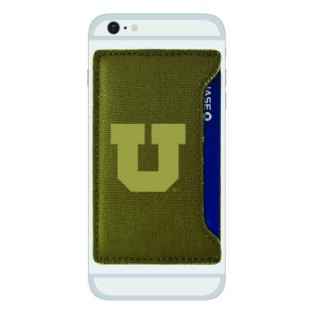 University of Utah-Durable Canvas Card Holder-Olive