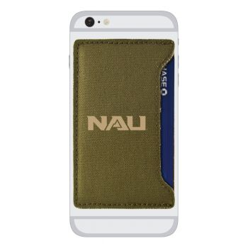 Northern Arizona University-Durable Canvas Card Holder-Olive