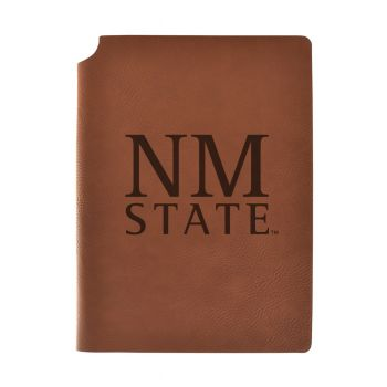 New Mexico State Velour Journal with Pen Holder|Carbon Etched|Officially Licensed Collegiate Journal|