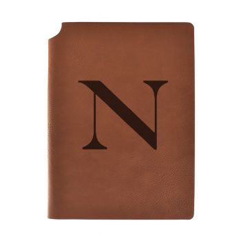 Northeastern University Velour Journal with Pen Holder|Carbon Etched|Officially Licensed Collegiate Journal|