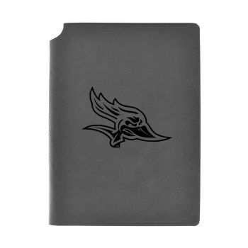 California State University, Bakersfield-Velour Journal with Pen Holder-Carbon Etched-Officially Licensed Collegiate Journal-Grey