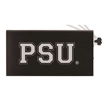 8000 mAh Portable Cell Phone Charger-The Pennsylvania State University -Black