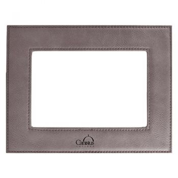 Canisus College-Velour Picture Frame 4x6-Grey