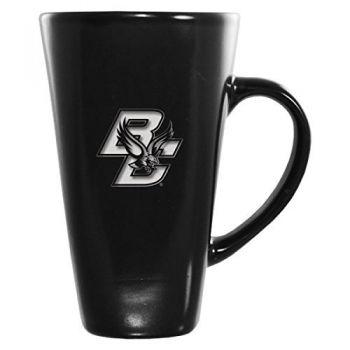 Boston College -16 oz. Tall Ceramic Coffee Mug-Black