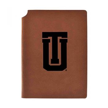 University of Tulsa Velour Journal with Pen Holder|Carbon Etched|Officially Licensed Collegiate Journal|