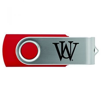 Washington University in St. Louis-8GB 2.0 USB Flash Drive-Red