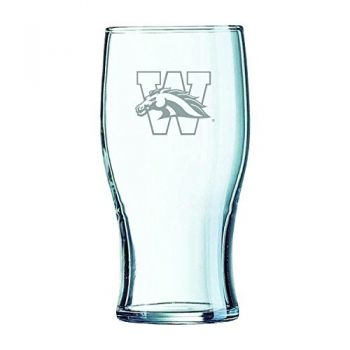 Western Michigan University-Irish Pub Glass