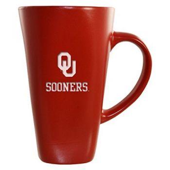 University of Oklahoma-16 oz. Tall Ceramic Coffee Mug-Red
