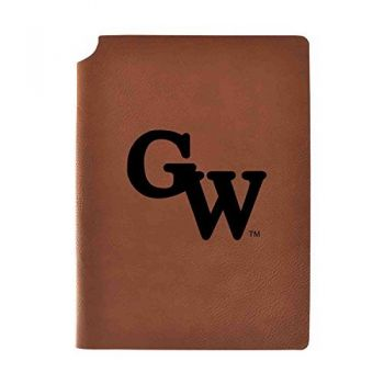 Gardner-Webb University Velour Journal with Pen Holder|Carbon Etched|Officially Licensed Collegiate Journal|