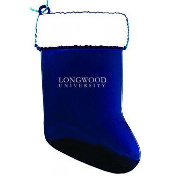 Longwood University - Christmas Holiday Stocking Ornament - Blue