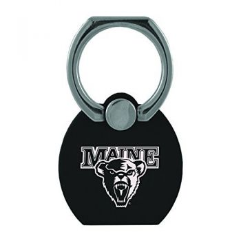 University of Maine|Multi-Functional Phone Stand Tech Ring|Black