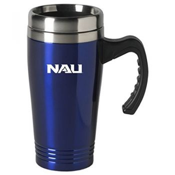 Northern Arizona University-16 oz. Stainless Steel Mug-Blue