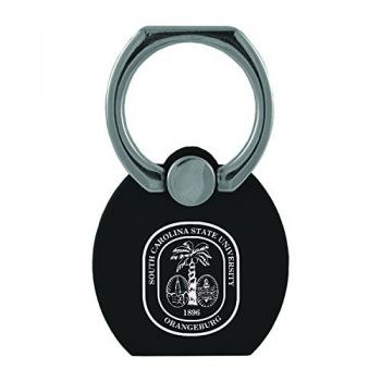 South Carolina State University|Multi-Functional Phone Stand Tech Ring|Black