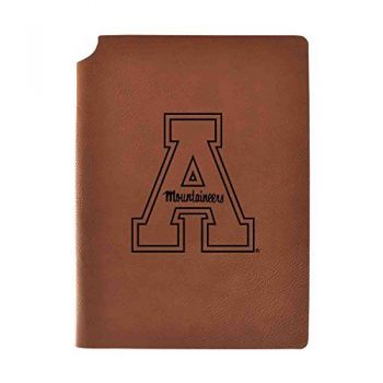 Appalachian State University Velour Journal with Pen Holder|Carbon Etched|Officially Licensed Collegiate Journal|