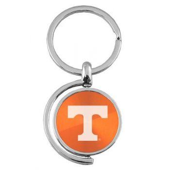 University of Tennessee - Spinner Key Tag - Orange