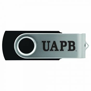 University of Arkansas at Pine Buff -8GB 2.0 USB Flash Drive-Black