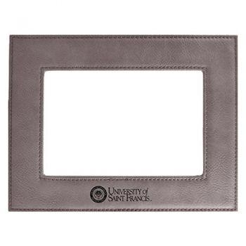 Stephen F. Austin State University-Velour Picture Frame 4x6-Grey