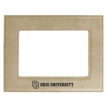 Ohio University-Velour Picture Frame 4x6-Tan