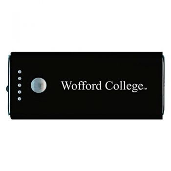 Wofford College-Portable Cell Phone 5200 mAh Power Bank Charger -Black