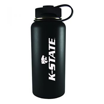 Kansas State University -32 oz. Travel Tumbler-Black
