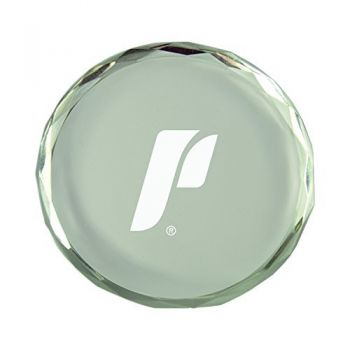The University of Portland-Crystal Paper Weight
