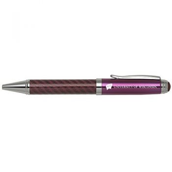 University of Wisconsin -Carbon Fiber Mechanical Pencil-Pink