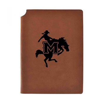 McNeese State University Velour Journal with Pen Holder|Carbon Etched|Officially Licensed Collegiate Journal|