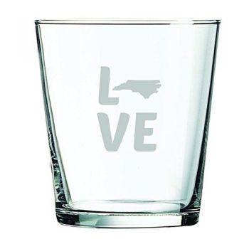13 oz Cocktail Glass - North Carolina Love - North Carolina Love