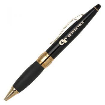 Georgia Institute of Technology - Twist Action Ballpoint Pen - Black
