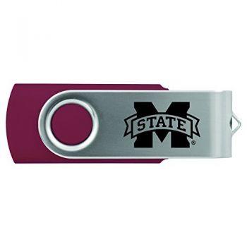 Mississippi State University -8GB 2.0 USB Flash Drive-Burgundy