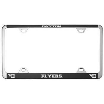 University of Dayton -Metal License Plate Frame-Black