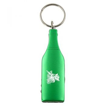 Mississippi Valley State University-Wine Shaped Bottle Opener-Green