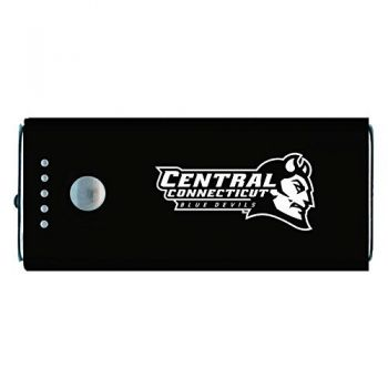 Central Connecticut University-Portable Cell Phone 5200 mAh Power Bank Charger -Black