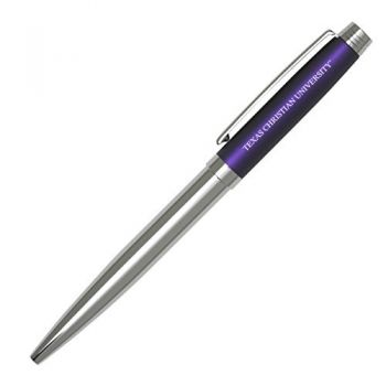 Texas Christian University-Sleek Avanti Ballpoint Pen -PURP