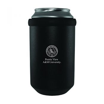 Prairie View A&M University -Ultimate Tailgate Can Cooler-Black