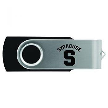 Syracuse University-8GB 2.0 USB Flash Drive-Black