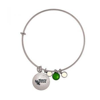 University of North Texas-Frankie Tyler Charmed Bracelet